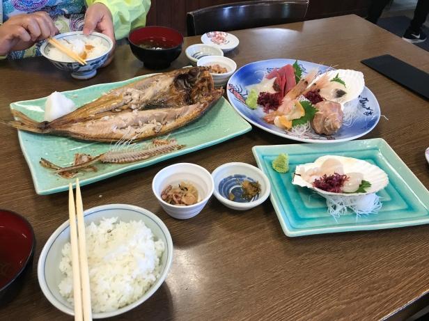 海鮮午餐2200日幣
