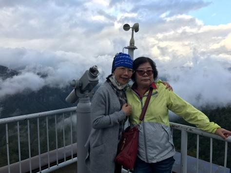 層雲峽的美麗景色