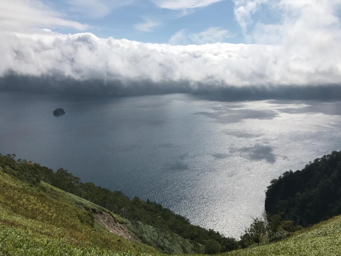 風景超美的摩周湖第三展望台